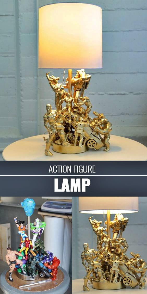 lampy z zabawek