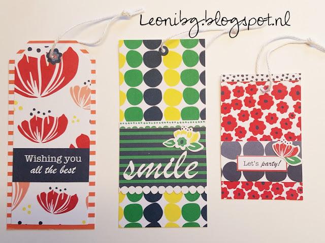 Labels maken | Stampin'Up! | Demonstrator worden | Happiness bloom card pack | Stampin'Up! bestellen | Cadeas verpakken | DIY | knutselen