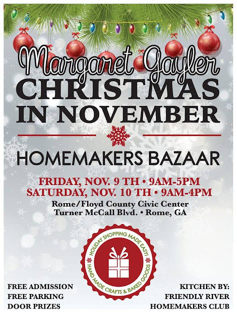 homemakers bazaar flyer