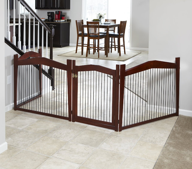 foldout dog crate table with safety fence u0026 gate