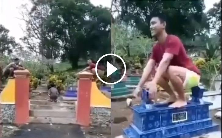 Video Menari Macam Beruk Atas Kubur !!.. - Kelakuan Geng Remaja Dikecam