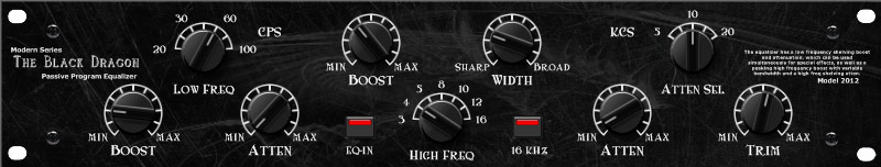 EQP-1A Modern Black Dragon VST Plugin Download