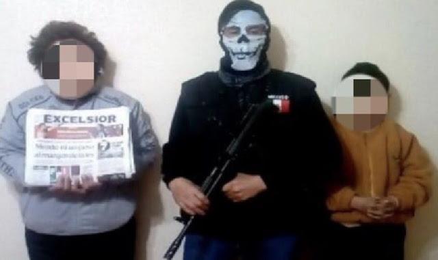 Se decian ser Zetas filmaban torturas,a una mujer discapacitada la raptaron y la quemaron con ácido. Se hacían pasar por policías