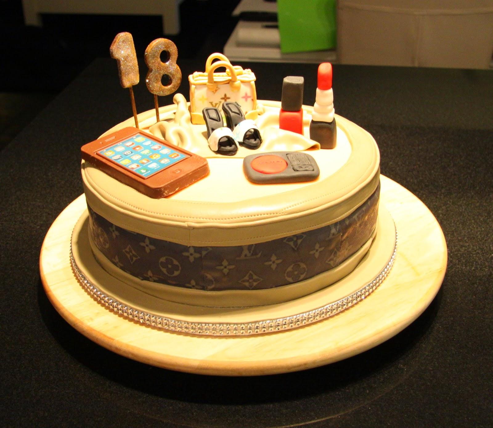 taart 18 jaar BOLAMOR TAARTEN: Thema/Verjaardag taart 18 jaar