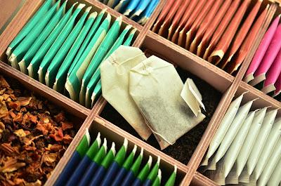 riciclare bustine da te