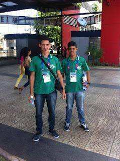 Atletas de Baraúna participam dos Jogos Universitários Brasileiros em Goiânia