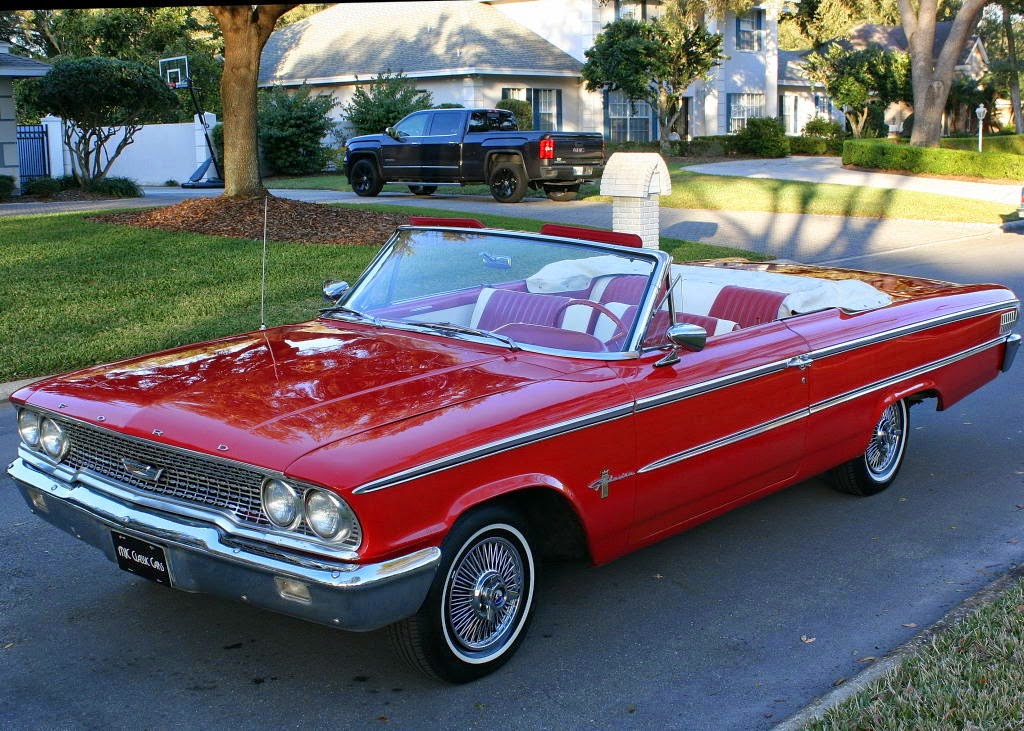 all american classic cars 1963 ford galaxie 500 sunliner. Black Bedroom Furniture Sets. Home Design Ideas
