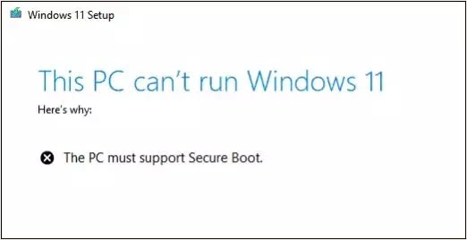 Cara Mengatasi Error This PC can't run Windows 11-1