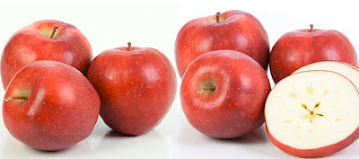 Fresh Red Apples by Kauffman's Fruit Farm
