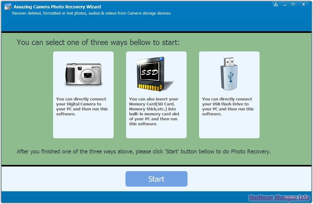 Download Amazing Camera Photo Recovery Wizard 9.1.1.8 Full Crack
