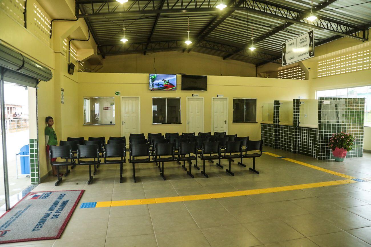 Governo libera terminal de Prainha
