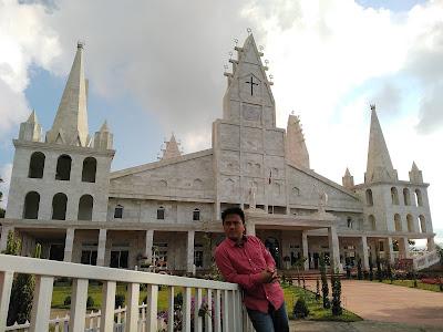 Largest temple Aizawl