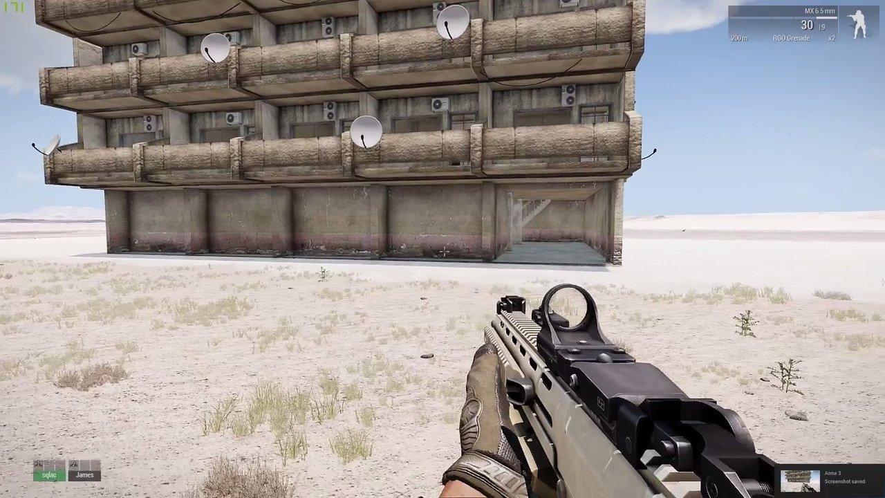 Arma 3 にユニットや武器、車両を移植する CUP MOD で建物を改良