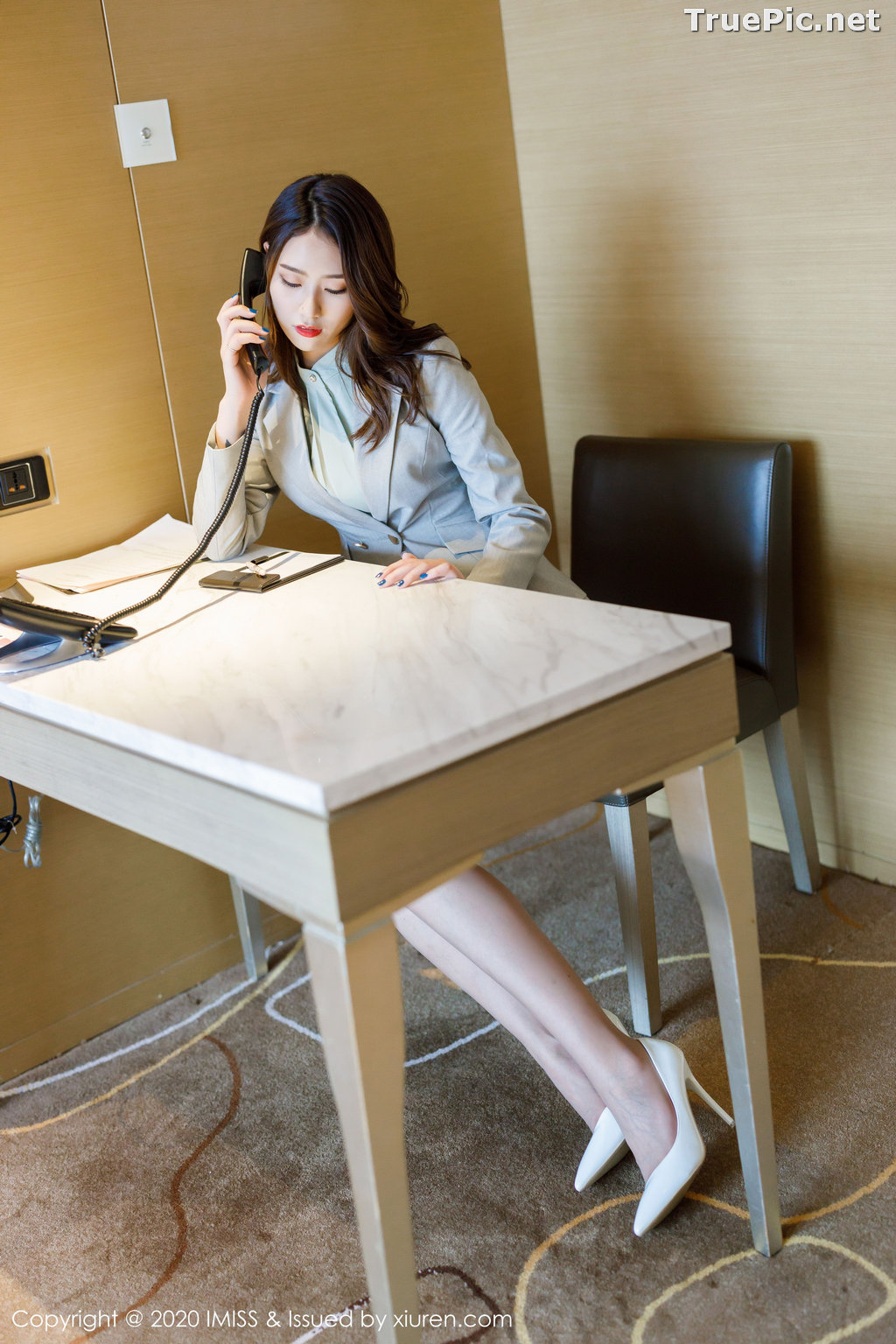 Image IMISS Vol.466 - Chinese Model - Fang Zi Xuan (方子萱) - Sexy Office Girl - TruePic.net - Picture-2