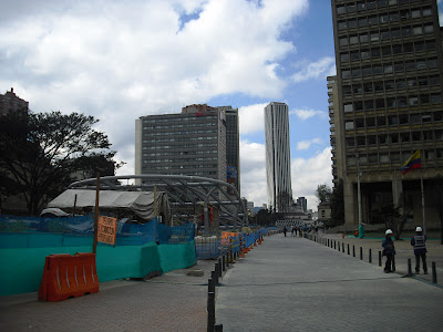 The ongoing, seemingly never-ending, infrastructure works in Bogotá