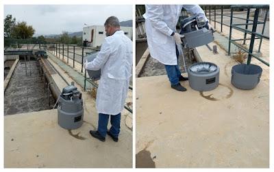 Η  παρακολούθηση υγρών αποβλήτων στον Βιολογικό Καθαρισμό Καλαμάτας