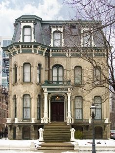 Keith Mansion exterior Chicago