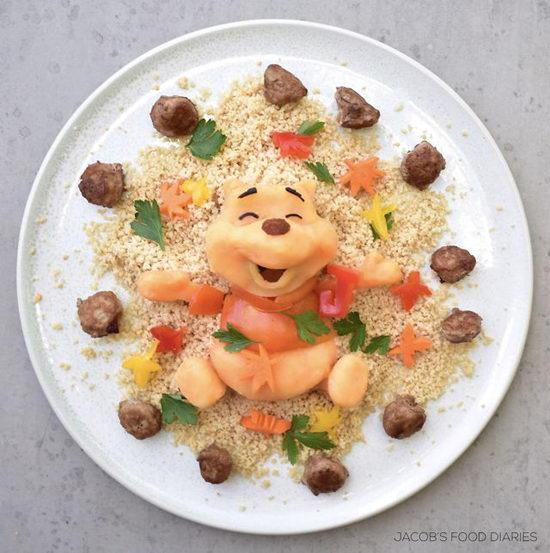Những món ăn đẹp như tác phẩm nghệ thuật