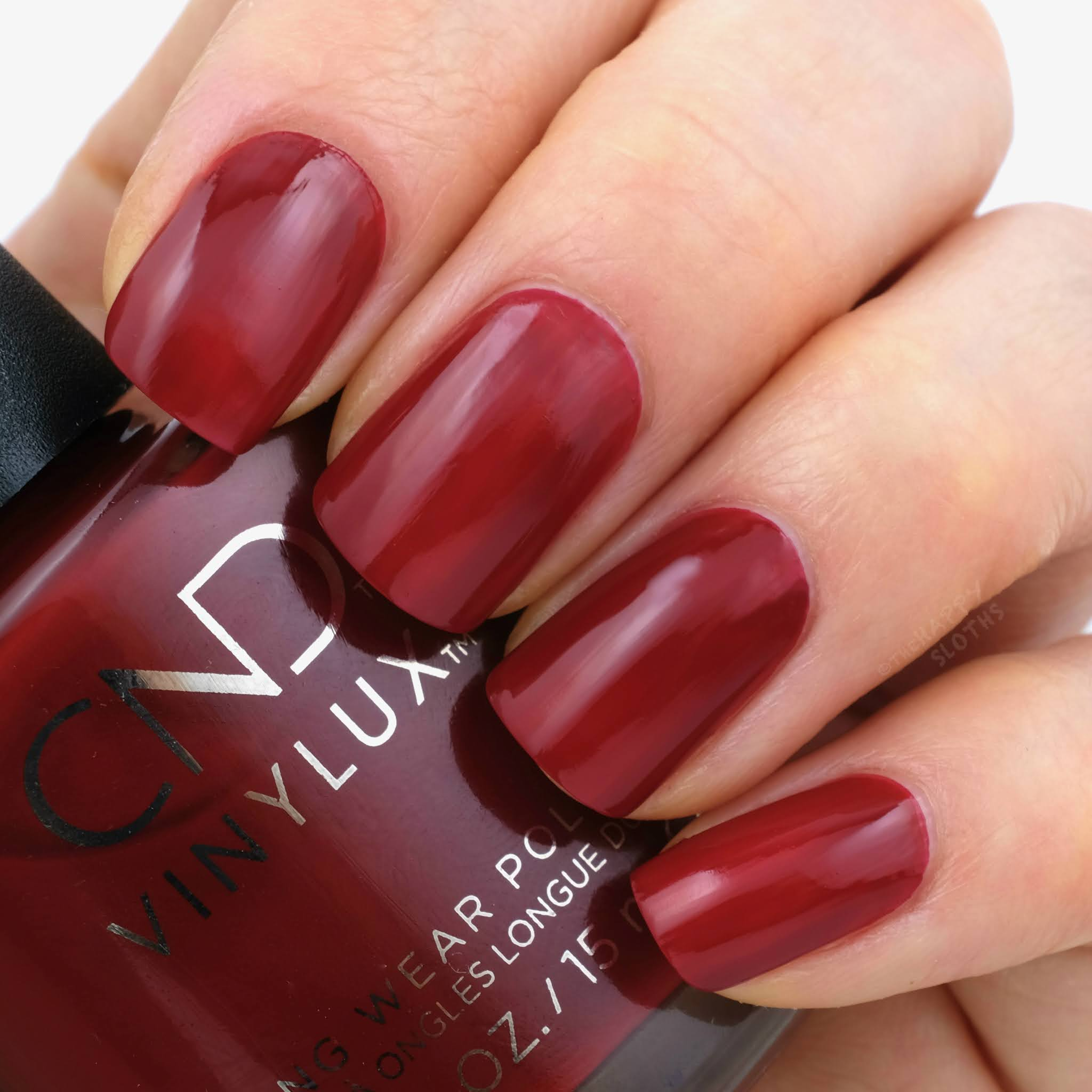 CND | Holiday 2020 Cocktail Couture Collection | Bordeaux Babe: Review and Swatches