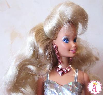 Кукла барби с глазами кристаллами 1991 года