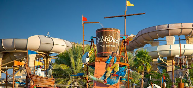Get 40% off on wild wadi water park.