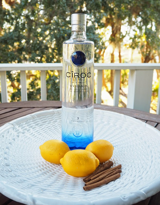CÎROC Vodka Spile cocktail recipe