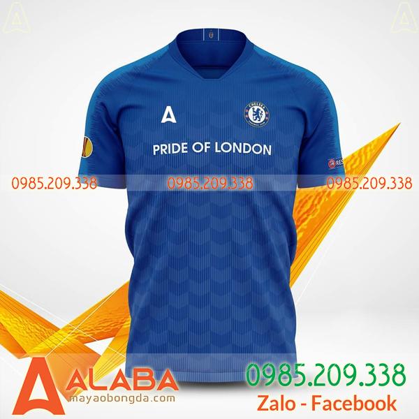 Quần áo bóng đá đặt may mã ALB 123 chất lượng cao