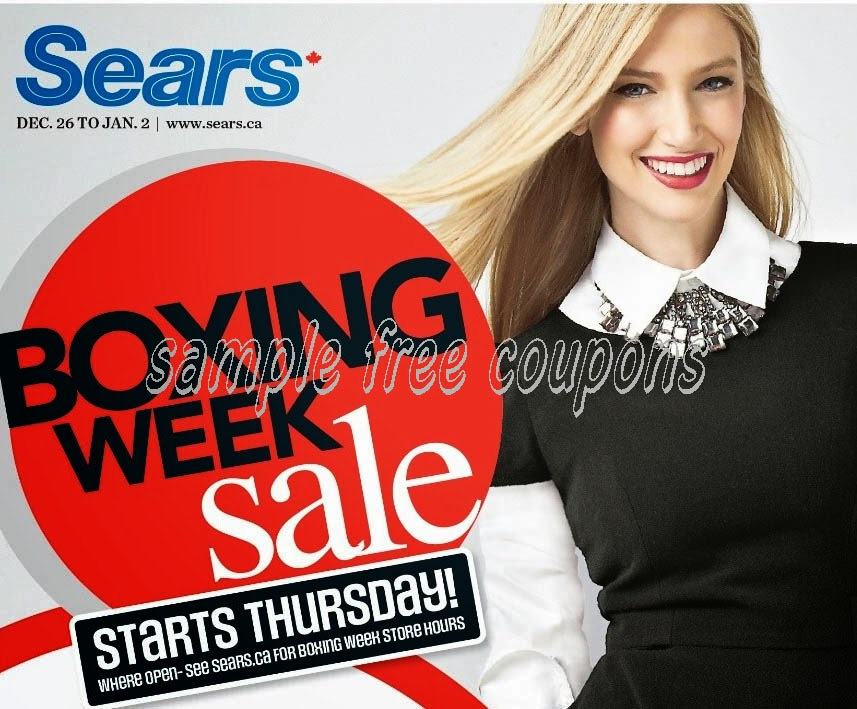 Sears Print Coupons Store February 2014