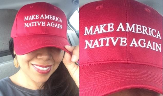 """Make America Native Again"" Image Goes Viral"