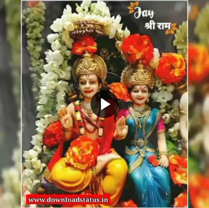 Happy Ram Navami Wishes Whatsapp Status Video Free Download 2022