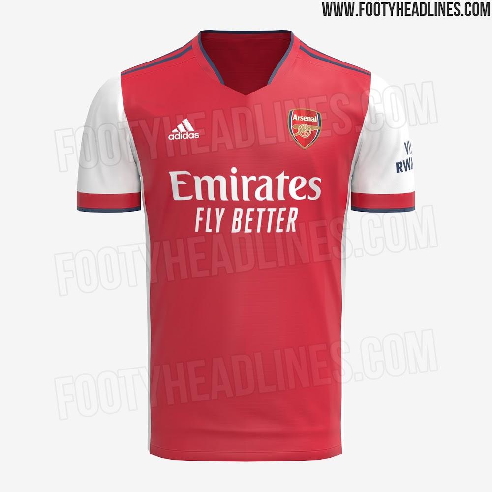 Adidas Arsenal 21-22 Home, Away & Third Kits - Footy Headlines