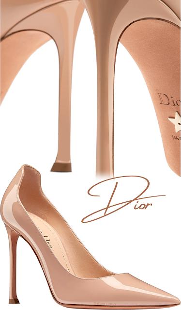 Nude Dior D-Moi pumps #brilliantluxury