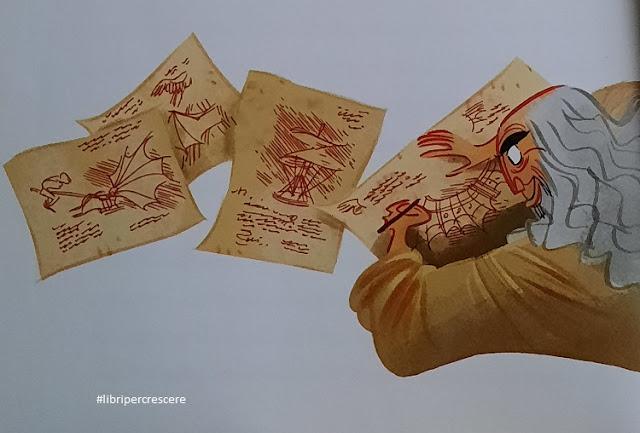 Libri per crescere: Leonardo Da Vinci genio senza tempo