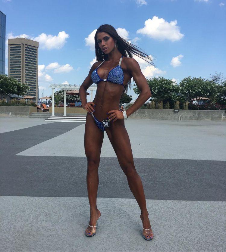 Russian star fitness bikini Diana Volkova