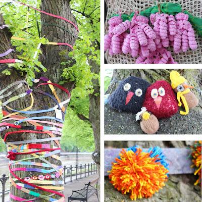 Knit 'n' Tag -neulegraffititapahtuma Turku 2019