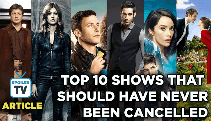 YouSay - Top 10 shows that should never have been cancelled - The Results *Updated with Non-Blocked version*