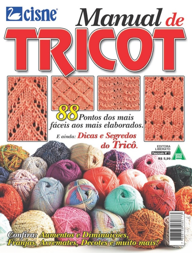 Manual de Tricô-Revista