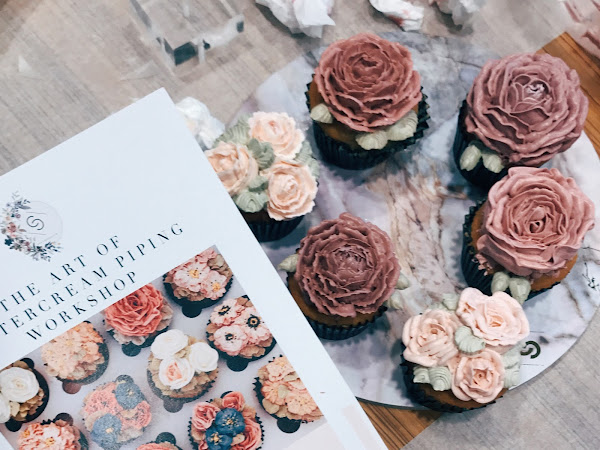 JUNE FLORAL BUTTERCREAM WORKSHOP