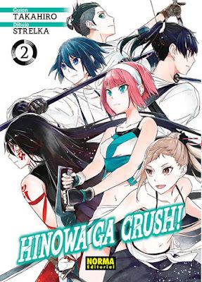 "Reseña de ""Hinowa ga Crush!"" de Takahiro y strelka - Norma Editorial"
