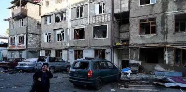 Azerbaijan Aktif Serang Tiga Kota Di Artsakh, Korban Sipil Berjatuhan