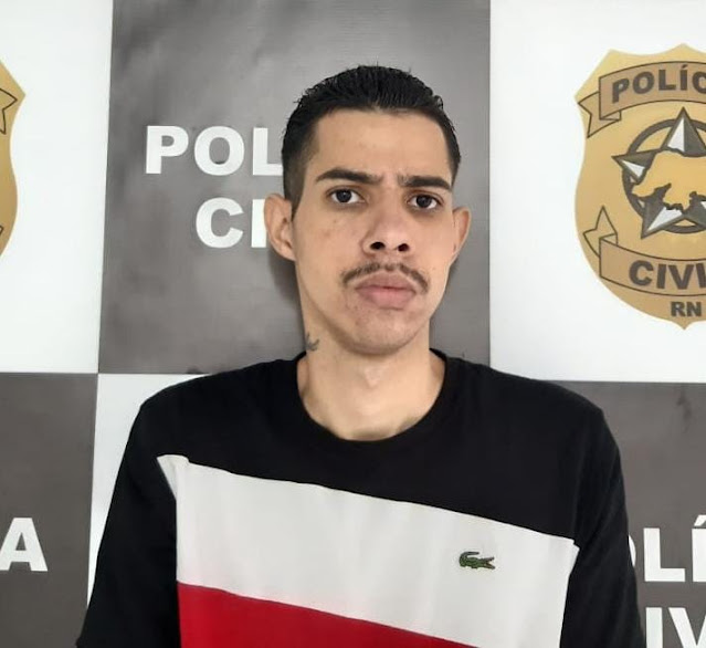 Foragido da Justiça do Rio de Janeiro é preso no interior do RN