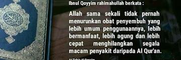 Al Qur'an Penyembuh Segala Penyakit