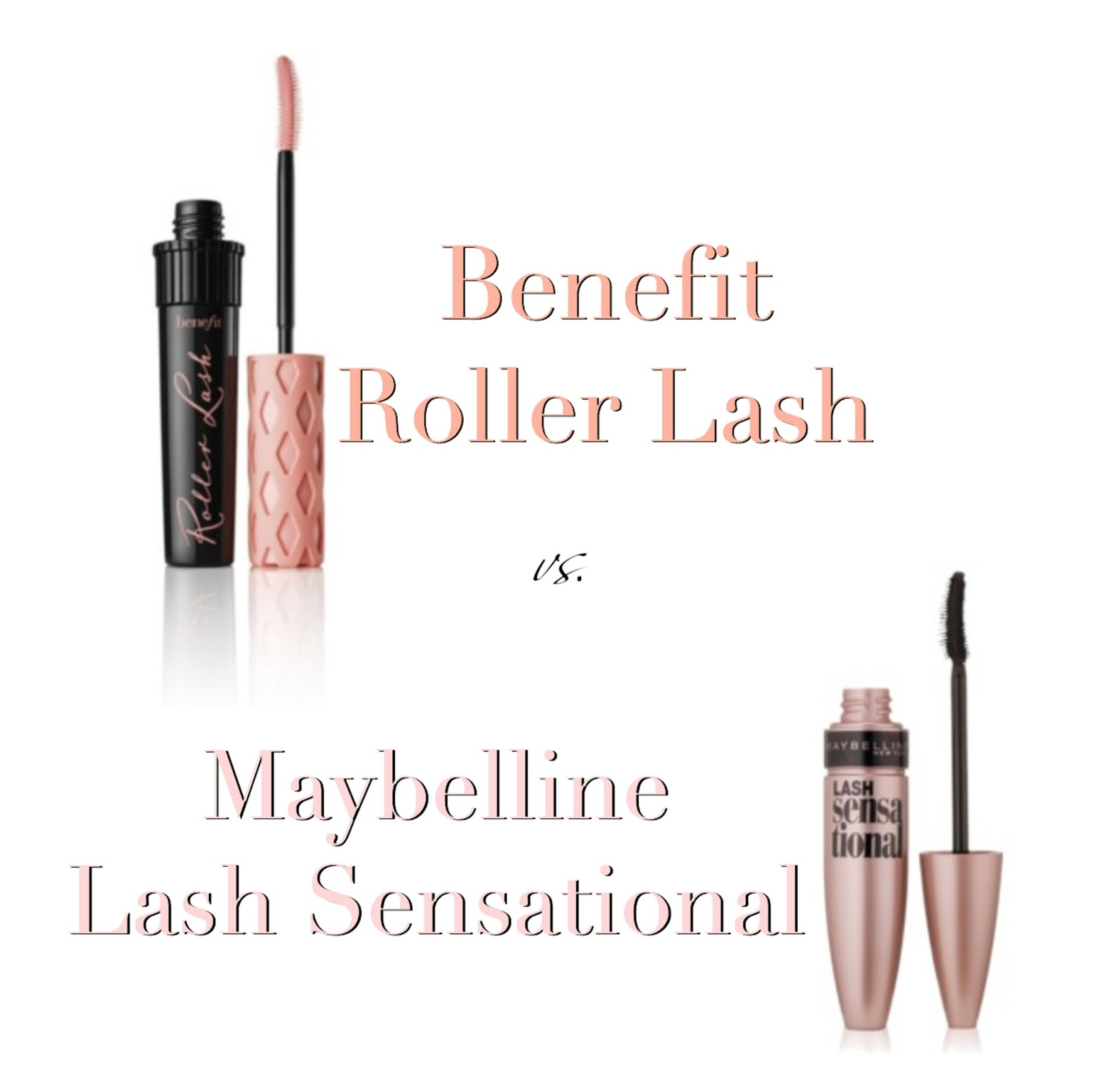 f72ade47c0b Elle Sees|| Beauty Blogger in Atlanta: This or That: Benefit Roller Lash  Vs. Maybelline Lash Sensational Mascaras