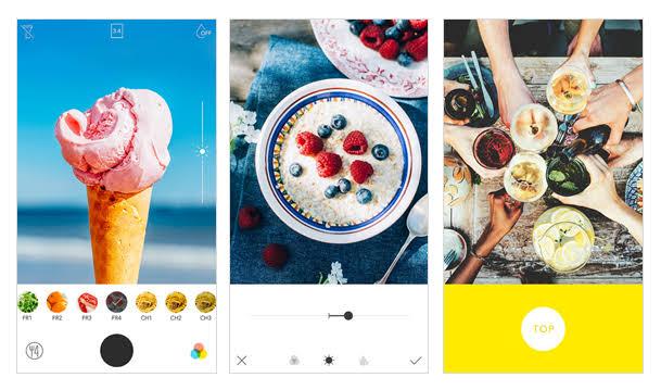 aplikasi edit foto iphone foodie