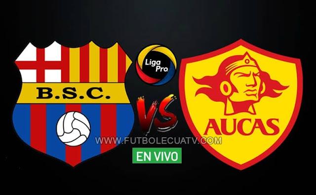 Barcelona SC recibe al Aucas en vivo a partir de las 19h00, siendo emitido por GolTV Ecuador en la fecha diez del campeonato ecuatoriano a efectuarse en el estadio Estadio Monumental. Con arbitraje principal de René Marín.