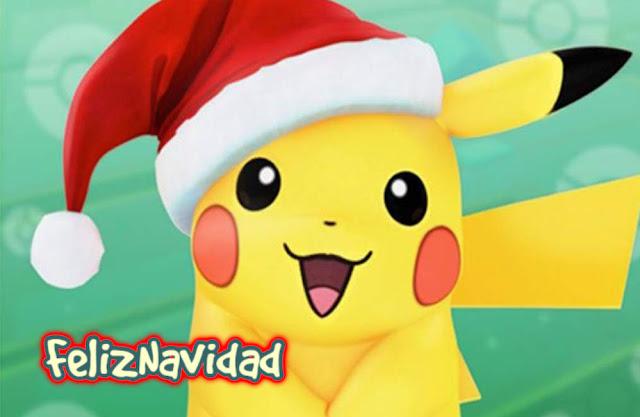 Pikachu Feliz navidad