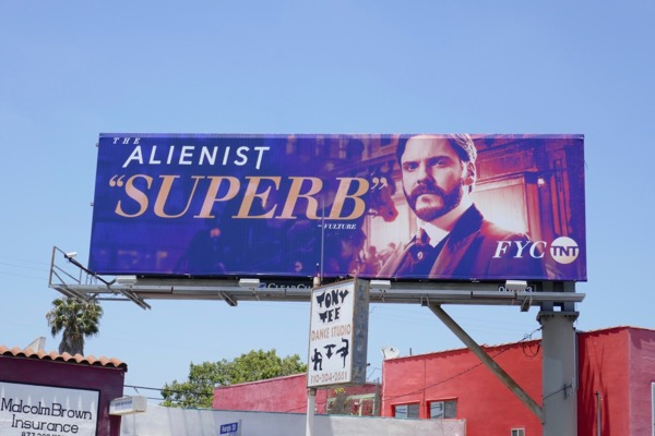 Alienist Superb Daniel Bruhl Emmy FYC billboard
