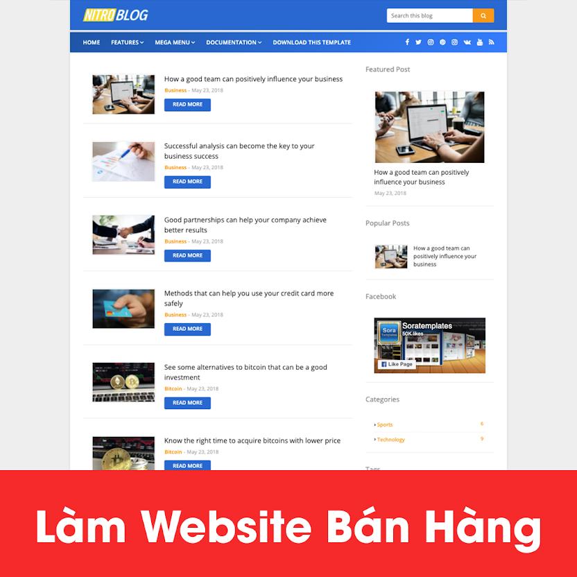 [A121] Dịch vụ thiết kế website giá rẻ, uy tín tại Hà Nội