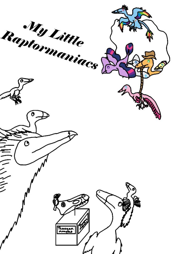Coming Soon: My Little Raptormaniacs