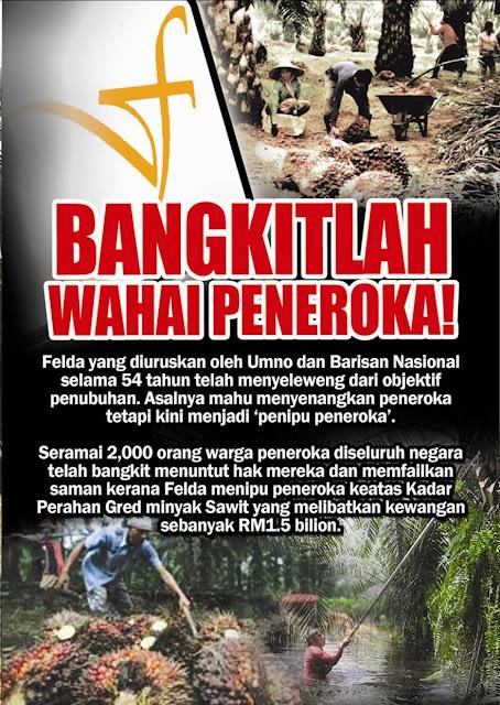 Image result for Gambar tanah felda tergadai